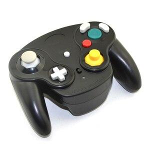 Image 4 - 2.4GHz bezprzewodowy Gamepad Bluetooth dla Gamecube dla kontrolera NGC Joypad Joystick dla Nintendo na komputer MAC