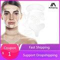 Wiederverwendbare Silikon Falten Entfernung Aufkleber Gesicht Stirn Neck Auge Aufkleber Pad Anti Aging Patch Gesicht Heben Maske Hautpflege Werkzeuge