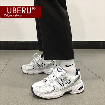 2020summer new mesh breathable reflective sneakers fashion ladies casual shoes thick bottom old shoes men and women runningshoes europe america new mesh breathable sneakers women s solid color round head shallow mouth casual thick bottom laceup single shoes