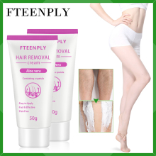 2PCS FTEENPLY Hair Removal Cream Painless Depilation Armpit Leg Natural Aloe Vera Essence Depilatory Protracted Smooth Body Care