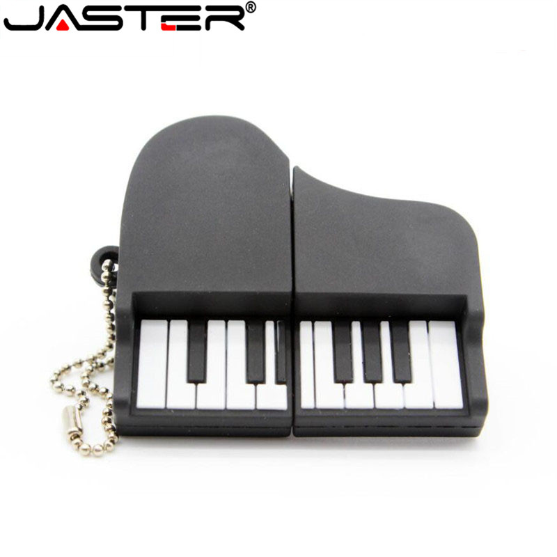 JASTER High Speed USB Flash Mini Music Instrument USB Stick Memory Disk USB PenDrive 4GB 8GB 16GB 32GB 64GB USB 2.0 Pendrive Key