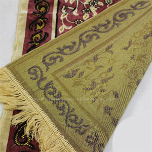 Image 3 - イスラム伝統的なシェニール儀式巡礼毛布カーペットイスラム教徒のモスク礼拝パッド中国ホイ祈りマット 70 センチメートル * 110 センチメートル