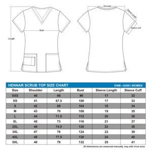 Image 2 - Hennar Vrouwen Scrub Scrub Tops In 100% Katoen Scrubs, Vrouwen Scrub Tops, Vrouwen Scrub Uniformen