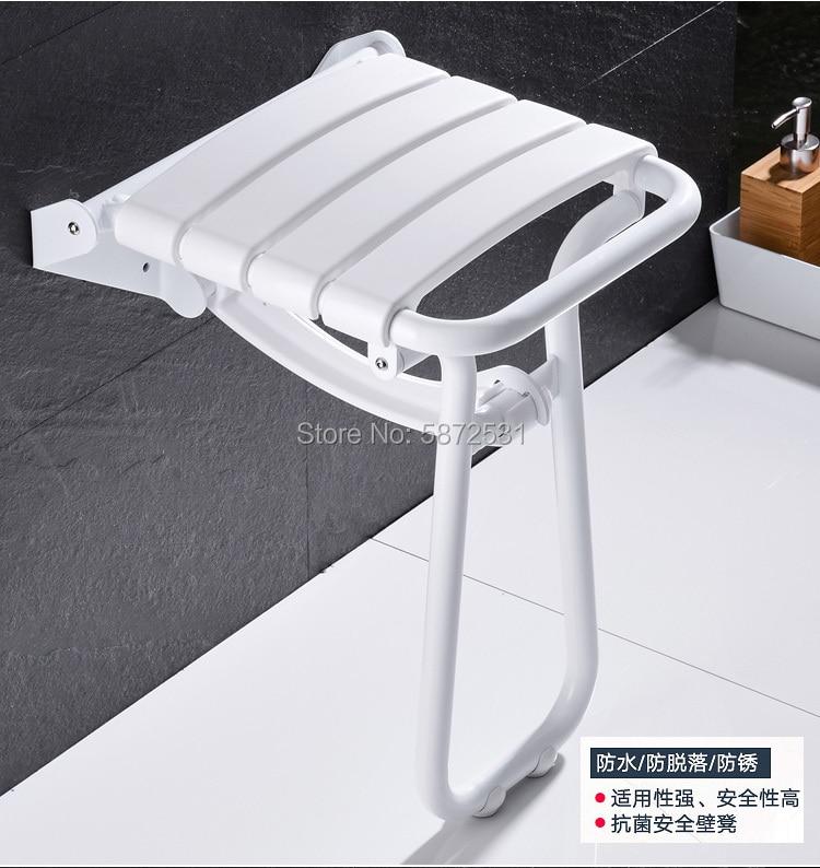 Купить алюминиевое настенное сиденье для душа в скандинавском стиле