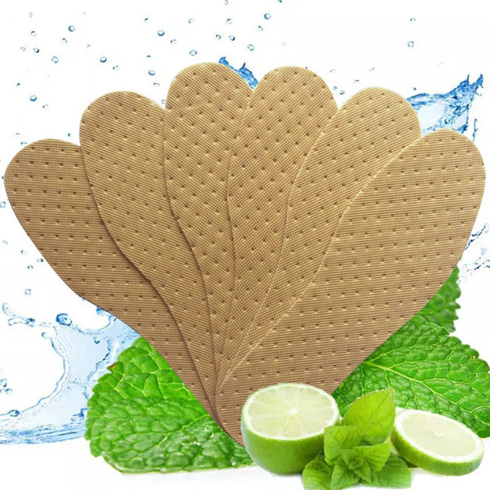 Hot Sale 1 Pair Comfortable Wood Pulp Shoes Insole Inserts Footwear Deodorant Breathable Quick-Drying Insole Adjustable Insole