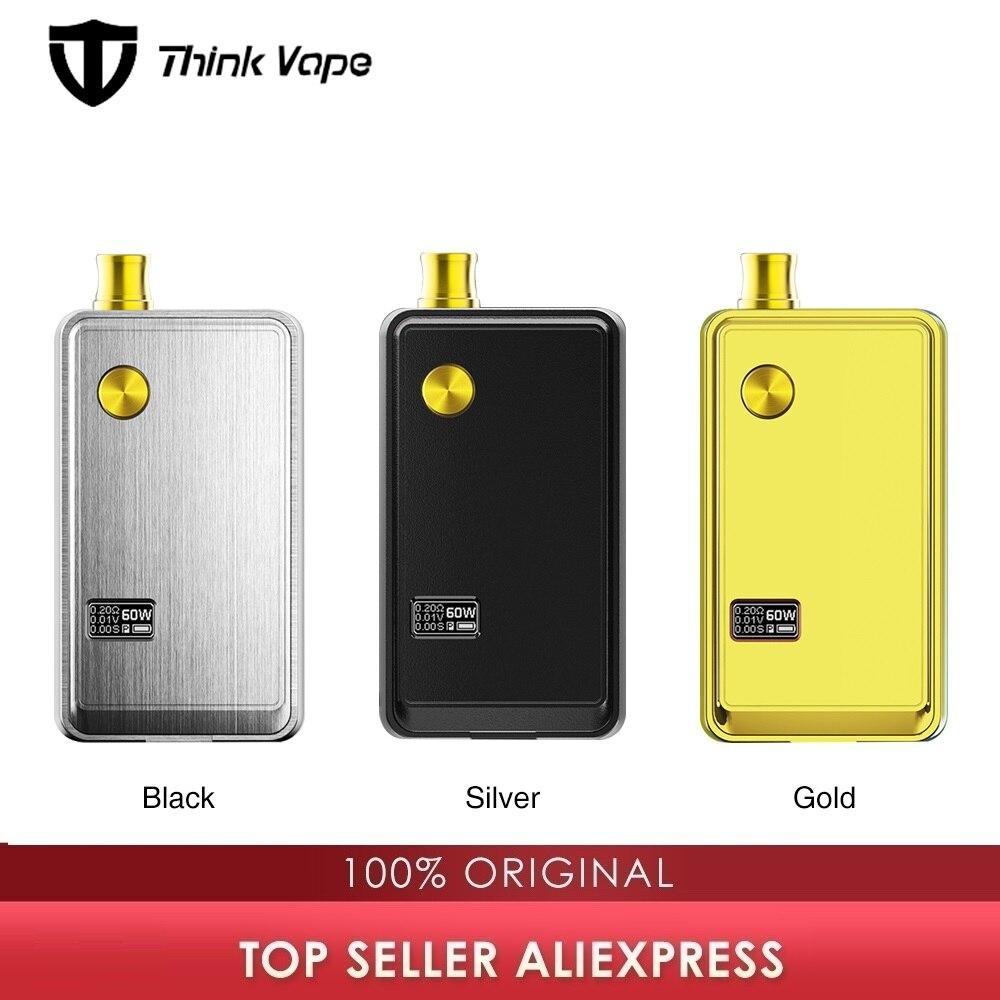 Think Vape ZETA Pod Kit 60W Portable DTL MTL Vaping Electronic Cigarette Vape Kit Pod System Vaporizer Vs Pal 2 Pro/ Drag Nano