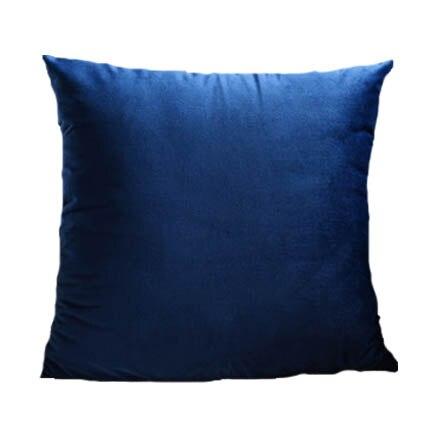 Housse coussin Bleu Marine – 4 Tailles au choix