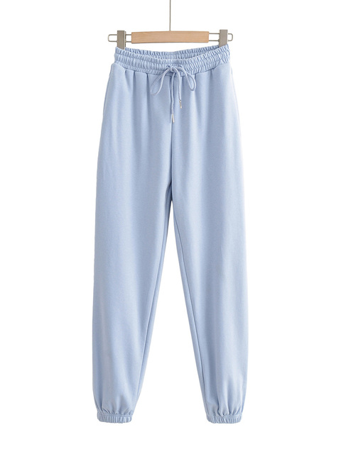 Fashion Tracksuit Womens Clothing Two Peice Set Outfits Sexy Sleeveless Crop Tops Loose Streetwear Elasitc Waist Jogger Pants 6