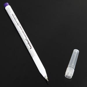 Image 5 - 1Set Sterilizzati Del Tatuaggio della Penna di Indicatore Chirurgica Della Pelle Microblading Posizionamento Strumento con Misurazione Righello Permanente di Trucco Accessori