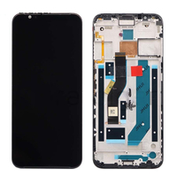 6.65 Original AMOLED LCD Display for ZTE Nubia Red Magic 3 NX629J LCD Display Touch Screen Digitizer Replacement Assembly+Frame