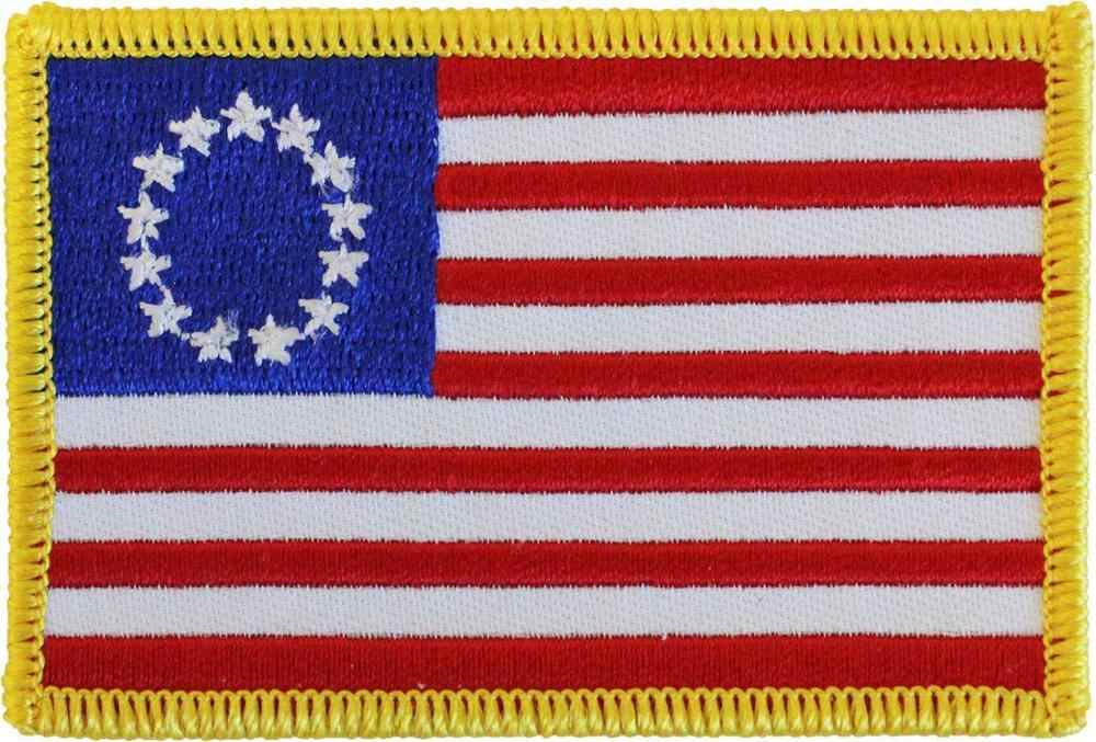 Betsy Ross American Flag Patch USA Flag Patch Embroidered New
