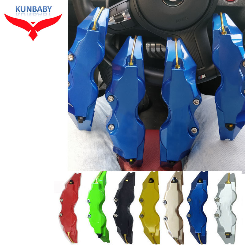 KUNBABY 7 Colors ABS Plastic Disc Brake Caliper Cover Without Logo Front And Rear For BMW Audi Mercedes Benz