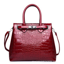 Fashion Crocodile Pattern Ladies Buckle Handbags 2020 Luxury Handbag Women Bags Designer Large Capacity Women Shoulder Briefcase