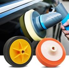 6 zoll Auto Auto Polieren Pad für Polierer Schwamm Rad Wachsen Auto Zubehör Polieren Disc Waschen Wartung 125mm