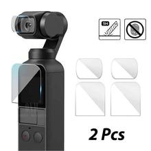 DJI Osmo accessoires de protection décran de poche Film de protection dobjectif couvercle de cardan accessoires filtre pour poche DJI Osmo