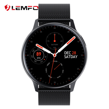 LEMFO S30 Smartwatch Men Women Body Temperature ECG Blood Pressure IP68 Waterproof Smartwatch For Android IOS Phone