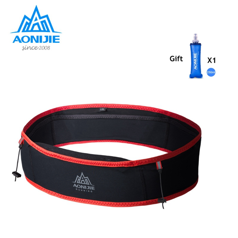 Aonijie Trailing Running Waist Bag With 250ml Water Soft Flask Outdoor Portable Ultralight For Camping Hiking Marathon W938S