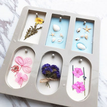 DIY silikon kil aromaterapi tabletler kalıpları askı süsleri balmumu kalıpları çiçek sabun kalıp el sanatları aksesuarları sabun kalıp