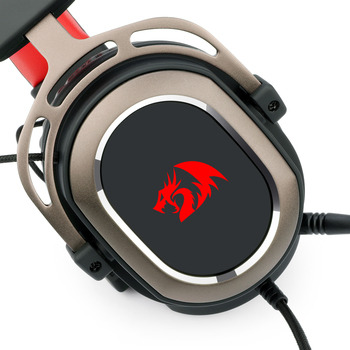 Redragon H710 Helios Wired Gaming Headset - 7.1 Surround Sound - Memory Foam Ear Pads - 50MM Drivers - Detachable Microphone 3