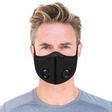 Masque facial respirant, Lavable, Anti-poussière, réutilisable, 55 pièces, uniquement pour la pologne, PM2.5