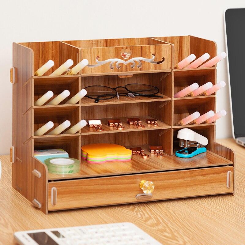Wooden Desk Organizer 2