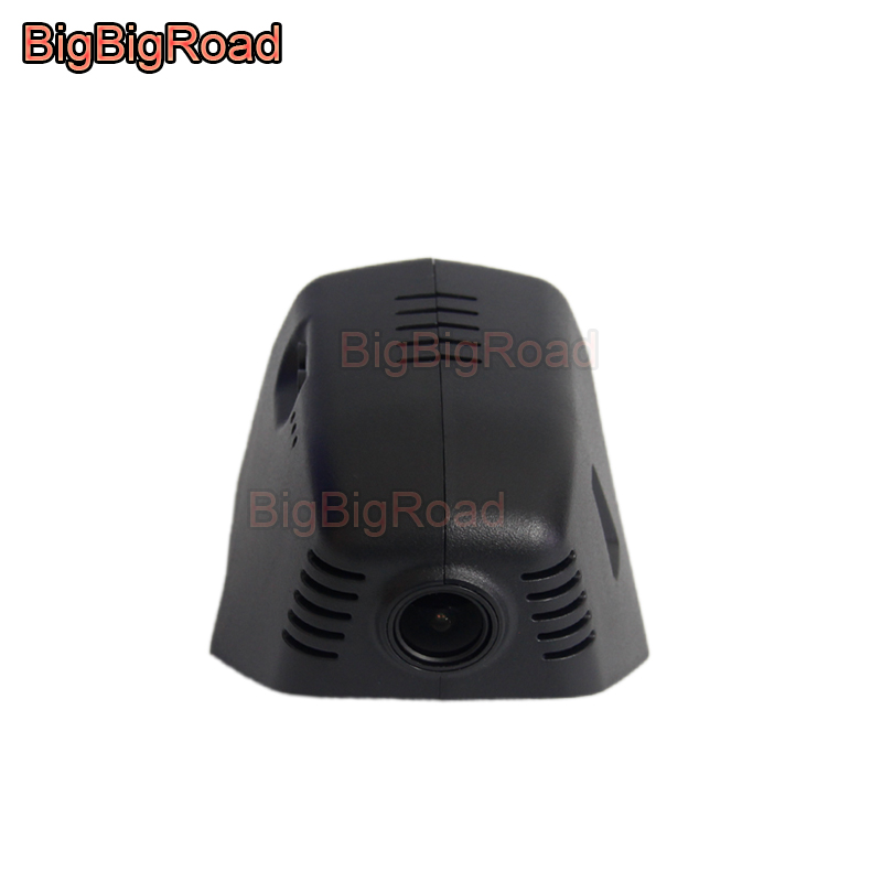 BigBigRoad For Volkswagen Tiguan / Tiguan L Tayron <font><b>2019</b></font> 2020 Wifi Car DVR Driving Video Recorder <font><b>Dash</b></font> <font><b>Cam</b></font> Camera FHD 1080P image