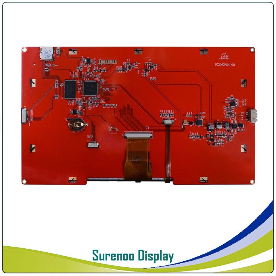10,1 NX1060P101 Nextion Интеллектуальный HMI USART UART последовательный TFT ЖК модуль Дисплей резистивный или емкостный дисплей Панель для Arduino - 5