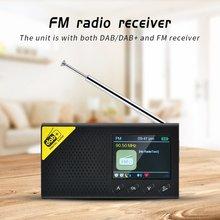 Портативное bluetooth цифровое радио dab/dab + и fm приемник