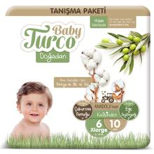 Baby Turco From Nature 6 Number Xlarge Meet Package 10 PCs