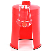 Plastic Mini Hand Pressure Type Inverted Drinking Fountain Coke Bottle Pump To Water Drinking Water Dispenser mini water dispenser cooler drinking water fountain hot cold water machine for home office