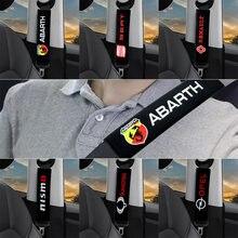 Чехол на автомобильный ремень безопасности с логотипом 2 шт