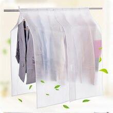 Вися Пылезащитный чехол прозрачный пальто костюмы защитная одежда сумка для хранения Организатор пылезащитные Чехлы Водонепроницаемый