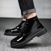 High Quality Men Boots Dr Martin Boots Shoes High Top Autumn Winter Shoes Man Casual Sneakers Male Footwear Zapatos De Hombre цена 2017