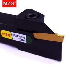 Mzg kgml 左 10 12 ミリメートル溝加工切削工具ホルダカッター cnc 旋盤別れと顔溝加工ツールホルダー