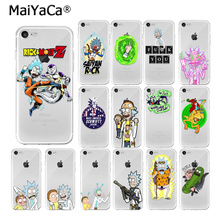 MaiYaCa Rick and Morty  Pattern TPU Soft Phone Accessories Cell Phone Case for iPhone X XS MAX  6 6s 7 7plus 8 8Plus 5 5S SE XR ruicaica rick and morty backwoods cigars silicone phone case cover for iphone x xs max 6 6s 7 7plus 8 8plus 5 5s se xr 10
