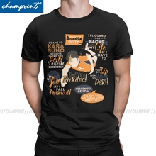 T-Shirt Haikyuu Volleyball Manga Anime Nishinoya Short-Sleeve Cotton Clothes Funny Crew