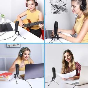 Image 5 - MAONO A04TR USB Mikrofon Kit 192KHZ/24BIT Computer Nieren Mic Podcast Kondensator Mikrofon für PC Karaoke YouTube Gaming