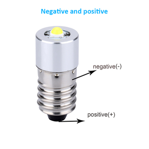 Image 5 - Светодиодный фонарь E10 для Focus, 3 в, 6 в, P13. 1, 60 100 люмен, 0,5 Вт, 3 в пост. Тока, 6 в