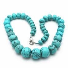 Популярное ожерелье из натурального хрусталя шарнирные круглые