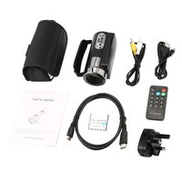 Camera Camcorder Remote Control Infrared Night Vision Handy Camera HD 1080P 24MP 16X Digital Zoom Video Camera with Microphone