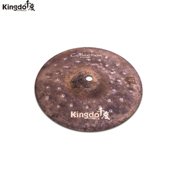 Kingdo 100% handmade B20 Collection Dry series 8 splash cymbal for drum set cymbals set kingdo b20 collection jazz series 10 splash cymbal for drum set cymbal set