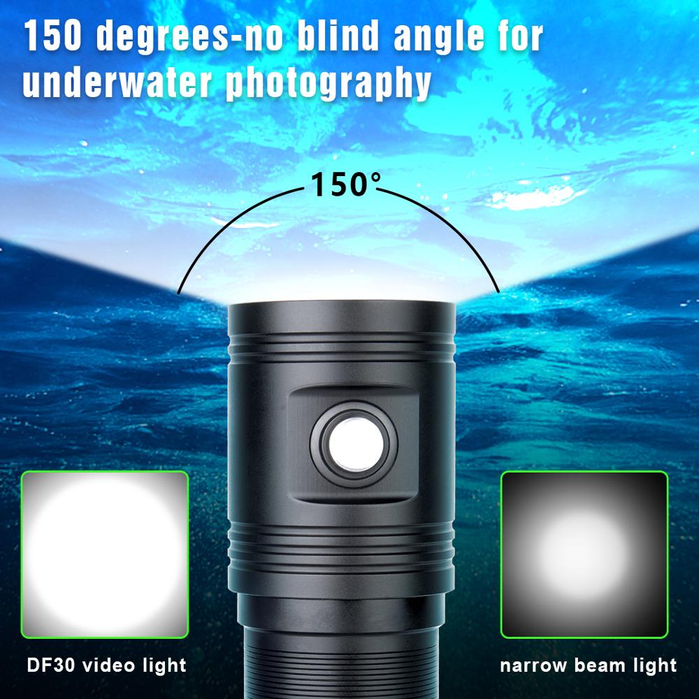 led 4 cores foto video lampada subaquatica 02