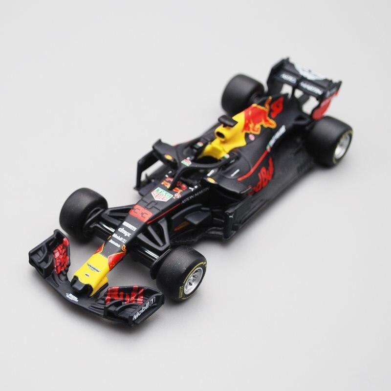 Bburago 1/43 1:43 2018 Red Bull Verstappen No33 F1 Formula 1 Racing Car Diecast Display Model Toy For Kids Boys Girls