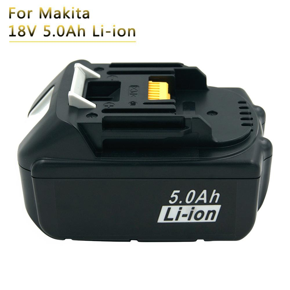 Rechargeable Battery 18V 5A Li-ion replacement batteries for Makita 18V Cordless Power Tools BL1850 BL1840 BL1860 BL1830 LXT400