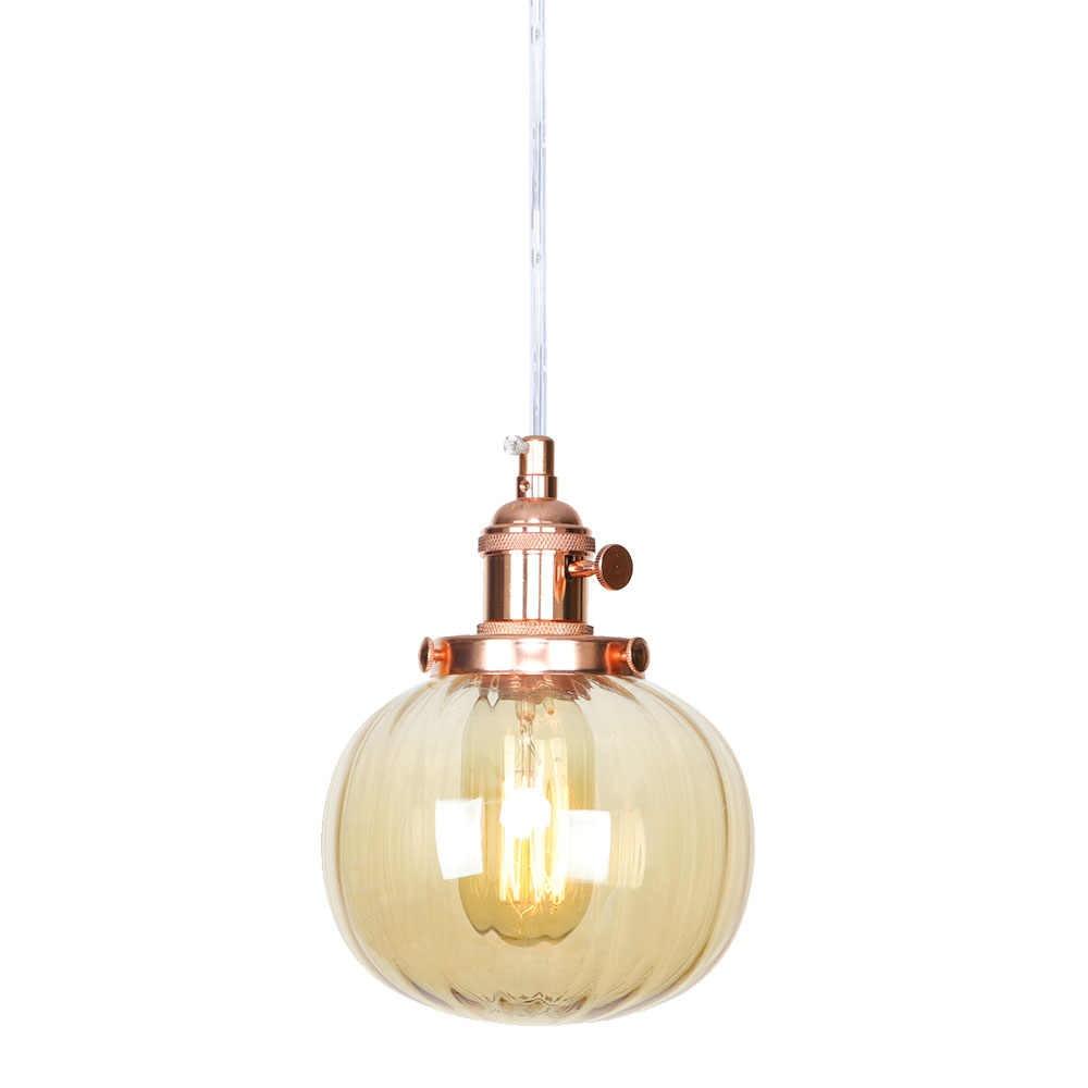 פשוט להתאים אדיסון LED תליון אור לופט תפאורה מודרני תליית מנורת ברזל מתג זכוכית אוכל חדר בית גופי תאורה