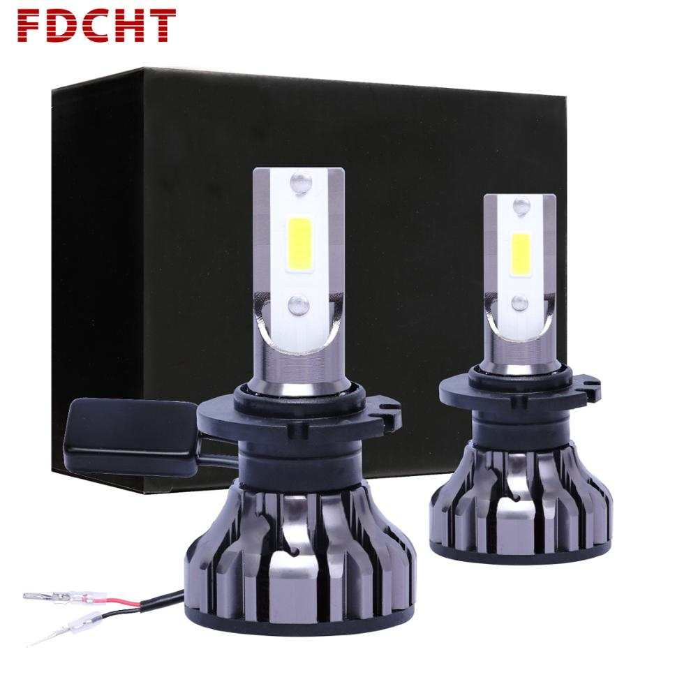 FDCHT car headlight bulb h1 h11 <font><b>led</b></font> <font><b>h4</b></font> h7 <font><b>led</b></font> car light 6500k psx24w h15 h27 d1s d2s d4s 24v hb3 hb4 h8 h3 turbo super <font><b>canbus</b></font> h9 image