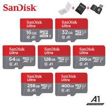 2019 sandisk карта памяти microsdhc/sdxc 400 ГБ 256 200 128