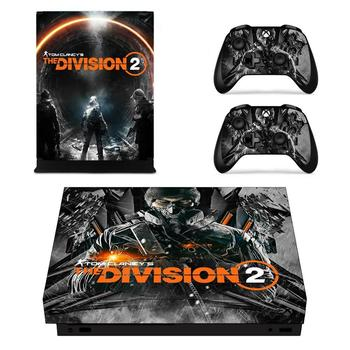 The Division 2 Game Cover Skin Console & Controller Decal Stickers for Xbox One X Skin Stickers Vinyl 1