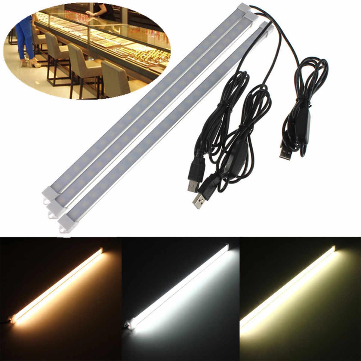 Светодиодный светильник 5 в USB 35 см 7 Вт 24 SMD 5630 теплый белый/натуральный белый/чистый белый для кемпинга настольного освещения