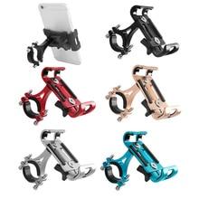 2019 New Bicycle Mobile Phone Holder Aluminum alloy Anti shock Phone Holder Bike Phone Holder Cycling Bracket Mount Bike Rack